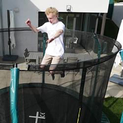 trampoline sécurité