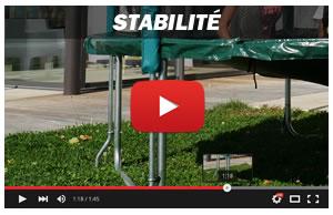 Stabilité trampoline